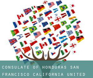 Consulate of Honduras San Francisco, California. United States