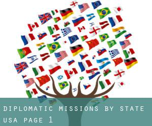 Diplomatic Missions by State (USA) - page 1