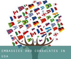 Embassies and Consulates in USA