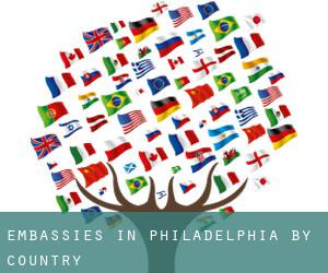 Embassies in Philadelphia by Country