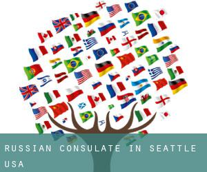 Russian Consulate in Seattle, USA
